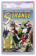 Golden Age (1938-1955):Science Fiction, Strange Worlds #3 (Avon, 1951) CGC Apparent VF+ 8.5 Moderate (P)Off-white pages....