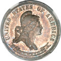Patterns, 1869 25C Standard Silver Quarter Dollar, Judd-722, Pollock-803,High R.6, PR64 NGC....