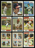 Baseball Cards:Sets, 1974 Topps Baseball Partial Set (562/660) with Extras. ...