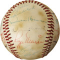 Autographs:Baseballs, 1979 New York Yankees Team Signed Baseball with Roger Maris. ...