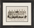 Baseball Collectibles:Photos, 1906 Chicago Cubs Oversized Photograph by Geo. Lawrence....