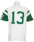 Football Collectibles:Uniforms, Early 1970's Don Maynard Game Worn Jersey....