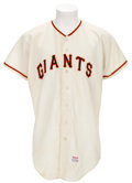 Baseball Collectibles:Uniforms, Late 1960's Jim Davenport Game Worn Jersey....