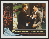 """It Conquered the World (American International, 1956). Lobby Cards (5) (11"""" X 14""""). Science Fiction. ... (Tota..."""