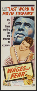 """Movie Posters:Thriller, Wages of Fear (DCA, 1955). Insert (14"""" X 36""""). Thriller.. ..."""