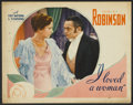 """Movie Posters:Drama, I Loved a Woman (First National, 1933). Lobby Card (11"""" X 14""""). Drama.. ..."""