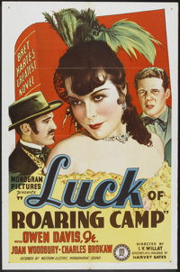 """The Luck of Roaring Camp (Monogram, 1937). One Sheet (27"""" X 41""""). Western"""