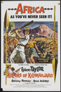 "Movie Posters:Adventure, Killers of Kilimanjaro (Columbia, 1960). One Sheet (27"" X 41"").Adventure.. ..."