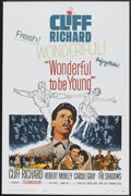 "Movie Posters:Rock and Roll, Wonderful To Be Young (Paramount, 1961). One Sheet (27"" X 41"").Rock and Roll.. ..."