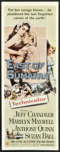 "Movie Posters:Adventure, East of Sumatra Lot (Universal, 1953). Inserts (3) (14"" X 36"").Adventure.. ... (Total: 3 Items)"
