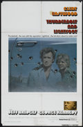 "Movie Posters:Crime, Thunderbolt and Lightfoot (United Artists, 1974). One Sheet (27"" X41"") Style B and Australian Daybill (13.25"" X 29.75""). Cr...(Total: 2 Items)"