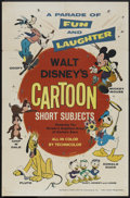 "Movie Posters:Animated, Disney Short Subjects Stock (Buena Vista, 1965). One Sheet (27"" X41""). Animated.. ..."