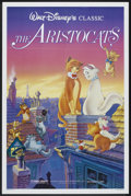 "Movie Posters:Animated, The Aristocats (Buena Vista, R-1987). One Sheet (27"" X 41"").Animated.. ..."