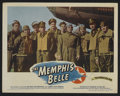 "Movie Posters:War, The Memphis Belle (Paramount, 1944). Lobby Cards (2) (11"" X 14"").War.. ... (Total: 2 Items)"