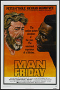 "Movie Posters:Adventure, Man Friday (Avco Embassy, 1975). One Sheet (27"" X 41"") and LobbyCard Set of 8 (11"" X 14""). Adventure.. ... (Total: 9 Items)"