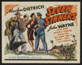 "Movie Posters:Adventure, Seven Sinners Lot (Universal, 1940). Title Lobby Cards (2) (11"" X14""). Adventure.. ... (Total: 2 Items)"