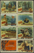 "Movie Posters:War, The Bridge On The River Kwai (Columbia, 1958). Lobby Card Set of 8(11"" X 14""). War.. ... (Total: 8 Items)"
