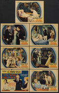 "Movie Posters:Drama, The Man Called Back (World Wide, 1932). Title Card and Lobby Cards (6) (11"" X 14""). Drama.. ... (Total: 7 Items)"