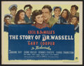 "Movie Posters:War, The Story of Dr. Wassell (Paramount, 1944). Title Lobby Card andLobby Cards (4) (11"" X 14""). War.. ... (Total: 5 Items)"
