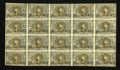 Fractional Currency:Second Issue, Fr. 1232 5c Second Issue Uncut Sheet of Twenty Extremely Fine. ...