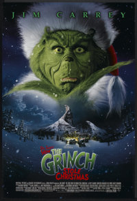 """How the Grinch Stole Christmas (Universal, 2000). One Sheet (27"""" X 40"""") DS. Family"""