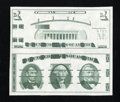 Small Size:Gold Certificates, Giori Test Pair Part IV. Choice Crisp Uncirculated.. ...