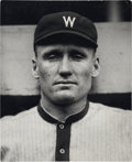 Baseball Collectibles:Photos, 1916 Walter Johnson Photograph from Culver Pictures Archives...