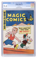 Golden Age (1938-1955):Miscellaneous, Magic Comics #72 Mile High pedigree (David McKay Publications, 1945) CGC NM 9.4 White pages. ...