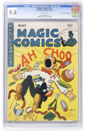 Golden Age (1938-1955):Miscellaneous, Magic Comics #70 Mile High pedigree (David McKay Publications, 1945) CGC NM 9.4 White pages. ...
