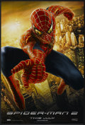 """Movie Posters:Action, Spider-Man 2 (Columbia, 2004). One Sheet (27"""" X 40"""") DS Advance.Swinging Style. Action.. ..."""