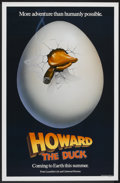 "Movie Posters:Comedy, Howard the Duck (Universal, 1986). One Sheet (27"" X 41"") Advance. Comedy.. ..."