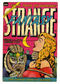 Golden Age (1938-1955):Horror, Strange Fantasy #13 (Farrell, 1954) Condition: FN+....