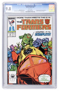 Modern Age (1980-Present):Science Fiction, Transformers #29 (Marvel, 1987) CGC NM/MT 9.8 White pages....