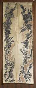 Latin American:Contemporary, LOTTE SCHULTZ . (Paraguayan, 20th Century). AbstractCowhide, 1965. Sculpted cowhide. 74 x 28 inches (188.0 x 71.1cm). ...