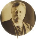 Political:Pinback Buttons (1896-present), Theodore Roosevelt: Hake Plate Specimen Picture Pin....