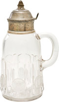 Antiques:Decorative Americana, U.S. Coin Glass: Columbian World's Fair Glass Syrup Jug, Circa1893....