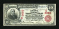 National Bank Notes:Kentucky, Maysville, KY - $10 1902 Red Seal Fr. 613 The State NB Ch. #(S)2663. ...