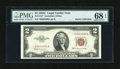 Small Size:Legal Tender Notes, Fr. 1512* $2 1953C Legal Tender Note. PMG Superb Gem Uncirculated 68 EPQ.. ...