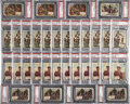 "Non-Sport Cards:Lots, 1954 Topps ""Scoop"" PSA-Graded Mini-Hoard Group of (501) - MainlyHigh Numbers!..."