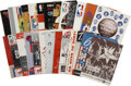 Basketball Collectibles:Others, 1954-80 NBA All-Star Programs Lot of 25....