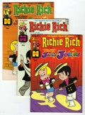 Bronze Age (1970-1979):Cartoon Character, Richie Rich and Jackie Jokers #1-48 File Copy Group (Harvey, 1973-82) Condition: Average NM-.... (Total: 48 Comic Books)
