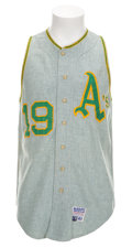 Baseball Collectibles:Uniforms, 1970 Bert Campaneris Game Worn Jersey....