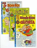 Modern Age (1980-Present):Humor, Richie Rich and Gloria File Copy Group (Harvey, 1978-82) Condition:Average NM-.... (Total: 21 Comic Books)