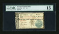 Colonial Notes:Georgia, Georgia 1777 $11 PMG Choice Fine 15....
