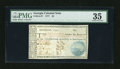Colonial Notes:Georgia, Georgia 1777 $5 PMG Choice Very Fine 35....