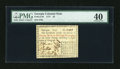 Colonial Notes:Georgia, Georgia 1777 $3 PMG Extremely Fine 40....