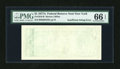 Error Notes:Blank Reverse (<100%), Fr. 1910-B $1 1977A Federal Reserve Note. PMG Gem Uncirculated 66EPQ.. ...