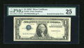 Error Notes:Inverted Third Printings, Fr. 1614 $1 1935E Silver Certificate. PMG Very Fine 25.. ...