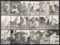 Baseball Cards:Sets, 1954-56 Spic and Span Milwaukee Braves Complete Set (18). ...