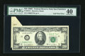 Error Notes:Foldovers, Fr. 2070-L $20 1969C Federal Reserve Note. PMG Extremely Fine 40.. ...